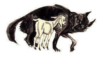 Волк и ягненок - Толстой Л.Н.