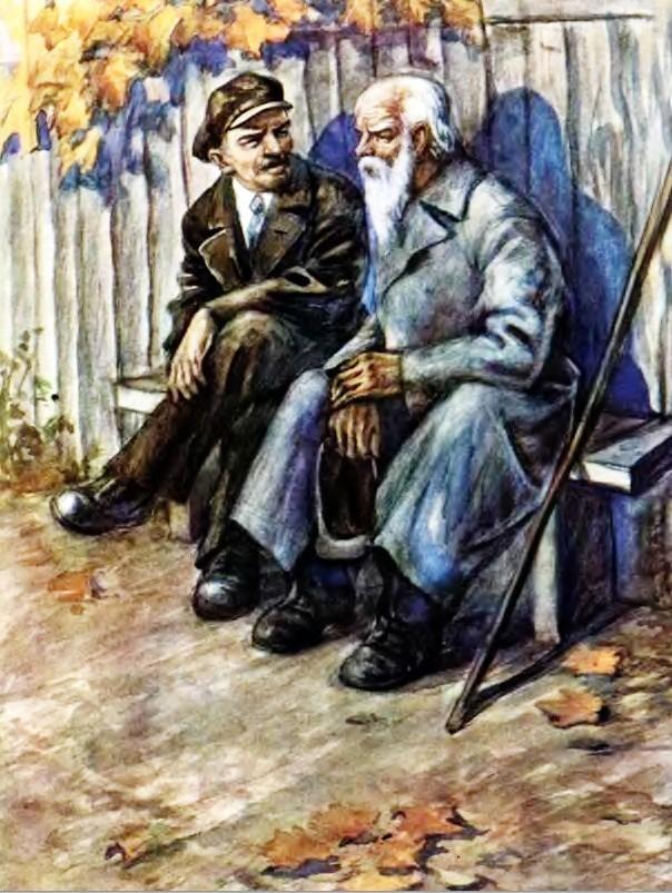 Старик в потертой шинели - Паустовский К.