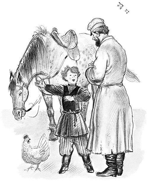 Как дядя рассказывал про то, как он ездил верхом - Толстой Л.Н.