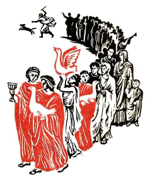 Как гуси Рим спасли - Толстой Л.Н.