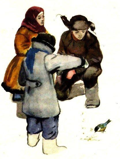 Синица и соловей - Скребицкий Г.