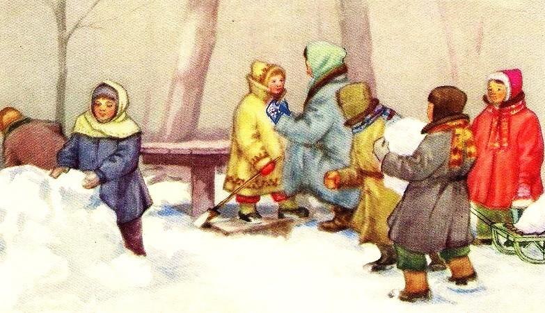 Снеговик - Скребицкий Г.