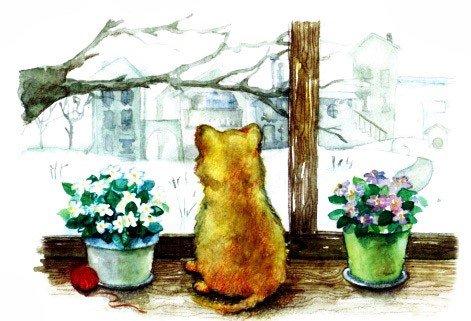 Морозное окошко - Абрамцева Н.