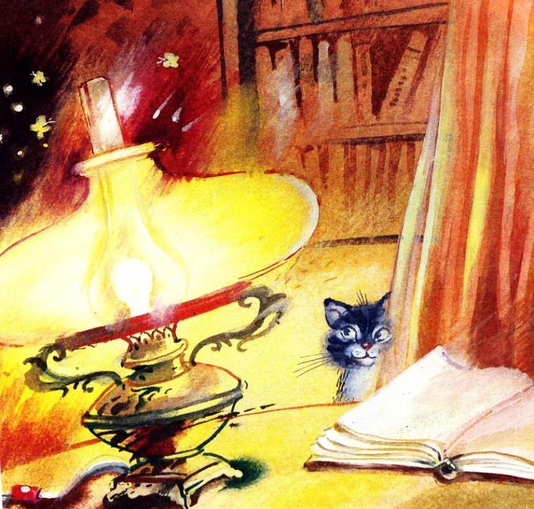 О чем думал котенок - Абрамцева Н.
