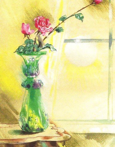 Сказка о старой вазе - Абрамцева Н.