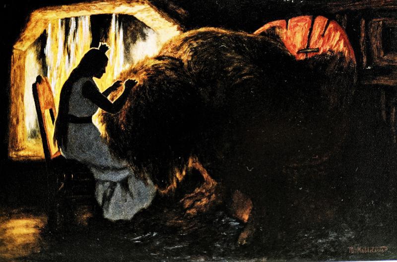 Дворец Сория-Мория - норвежская народная сказка