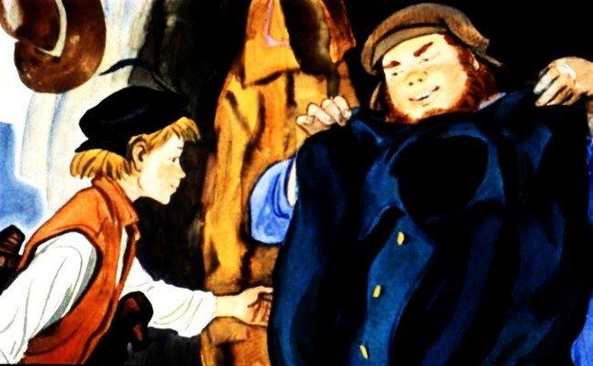 Гвоздь из родного дома - шведская народная сказка