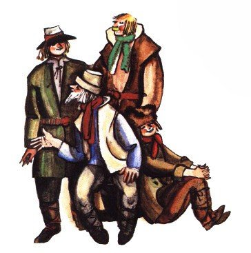 Как глупый сын ездил в Ригу - латышская сказка