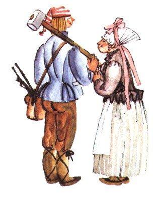 Молодой кузнец - эстонская сказка