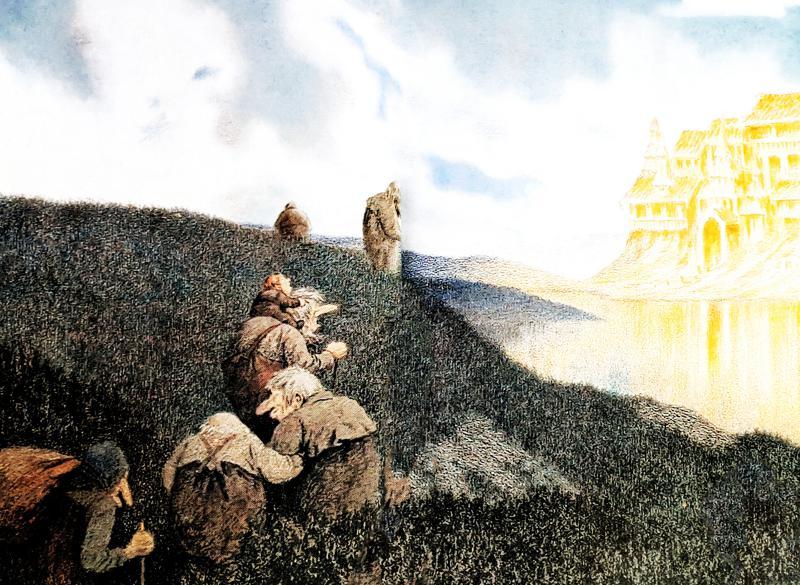 На пир в замок троллей - норвежская народная сказка