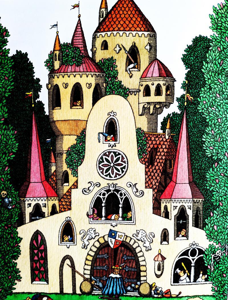 Шиповничек - немецкая народная сказка