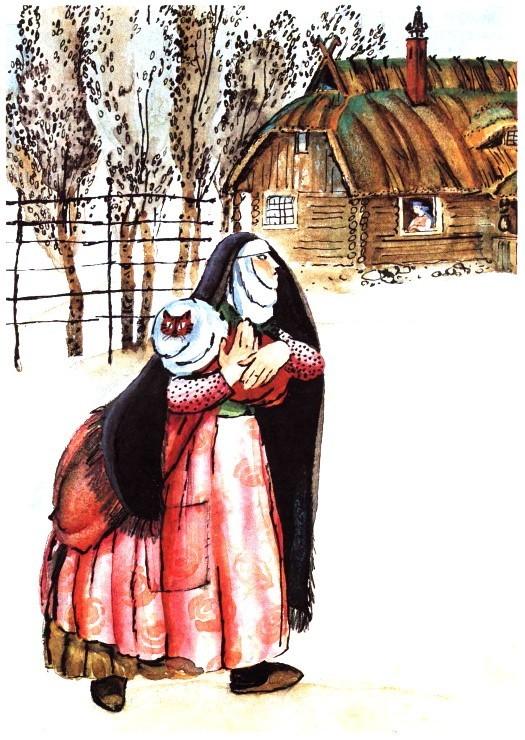 Сестрина  любовь - литовская сказка