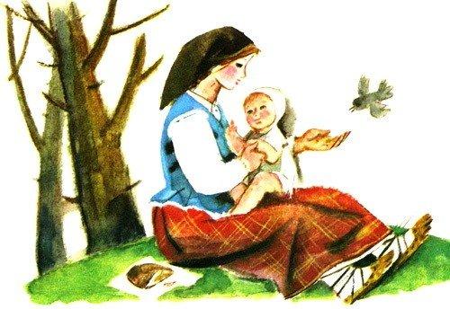 Сказка о мудрой жене - латышская сказка
