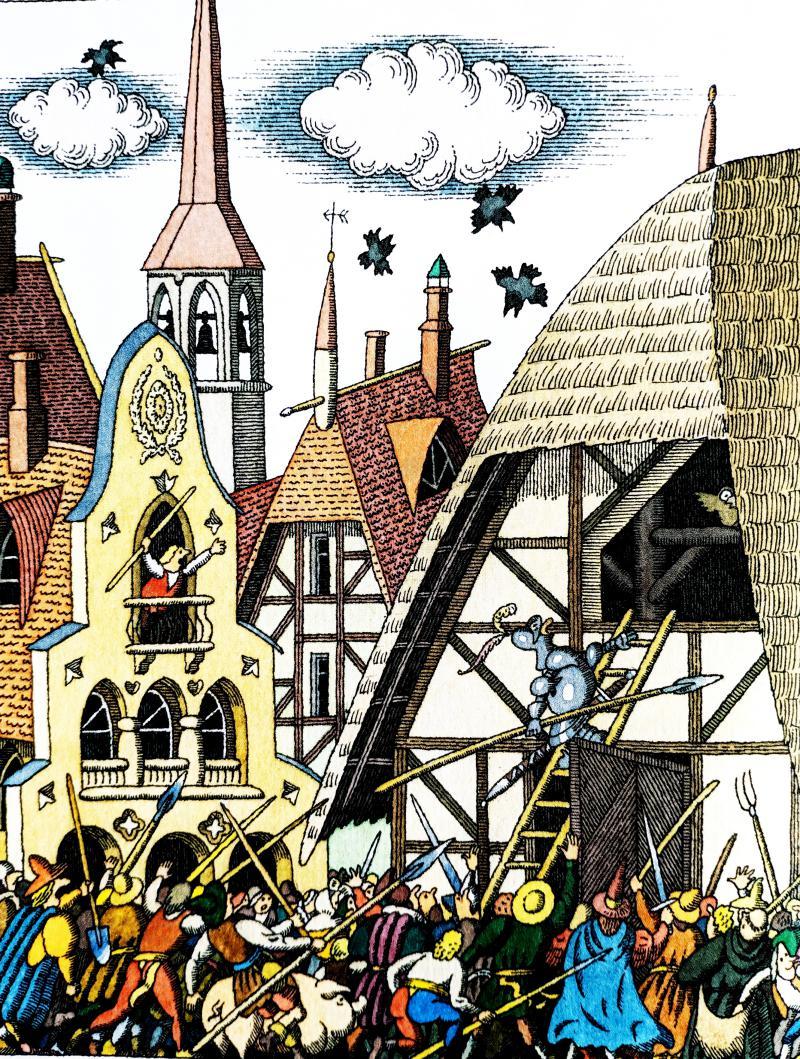 Сова - немецкая народная сказка