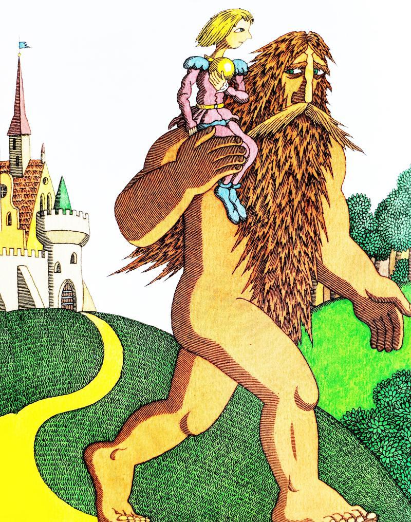 Железный Ганс - немецкая народная сказка