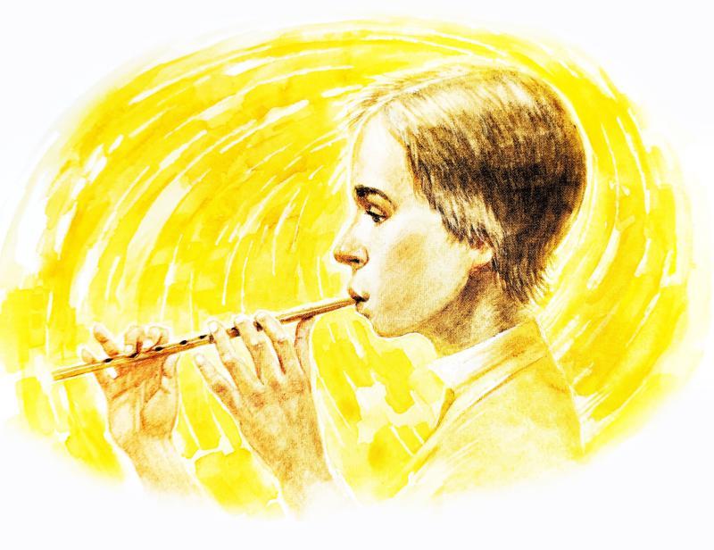 Кнут-музыкант - Топелиус С.