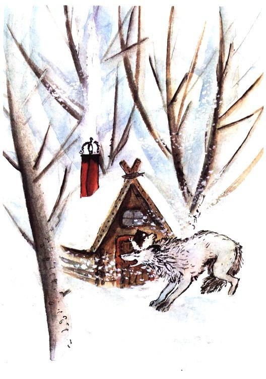 Волк и овца - эстонская сказка