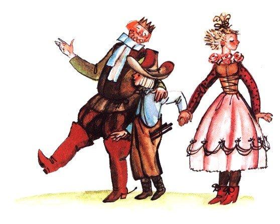 Волшебные дудочки - латышская сказка