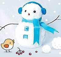 Зимние поделки для детского садика для детей и родителей.